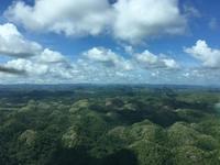 チョコレートヒルズとカミギン島 - ENJOY FLYING ~ セブの空