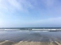 夏休み絵日記「今朝の海」 - 海の古書店