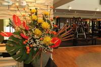 定期の花 エニタイムフィットネスセンター赤羽北店様 世界陸上 - 北赤羽花屋ソレイユの日々の花