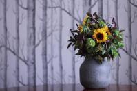 ゴッホの向日葵のスパイシーなブーケ - Cherish~大切なもの