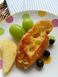 フレンチトーストバケットの朝ごパン - 料理研究家ブログ行長万里  日本全国 美味しい話