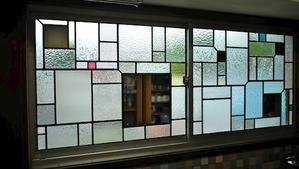 工房窓ステンド第二弾 -