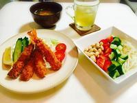 夏休みの昼食☆ - Mi-Rinのおいしいもの日記