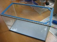 ポリプテルス飼ってみたい 60cm規格水槽を濾過槽に改造編 - +Dauntless+