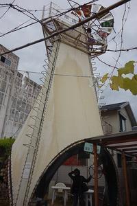 長浜市の日本一巨大な万華鏡 - レトロな建物を訪ねて