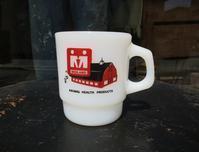 70's Fire King Rib Advertising Mug - DELIGHT CLOTHING&SUPPLY