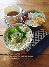 8.8 冷やしうどん弁当 - YUKA'sレシピ♪