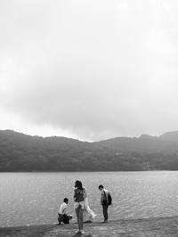 湖畔にて - 節操のない写真館
