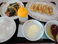 京都市 やはり麺類は;; 餃子の王将 - 転勤日記