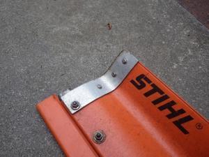 STIHL HS86T・87T の欠点。 -