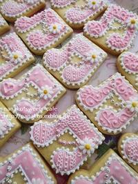 音符のアイシングクッキー * ピンクバージョン♬ - nanako*sweets-cafe♪