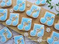 音符のクッキー * ブルーバージョン - nanako*sweets-cafe♪