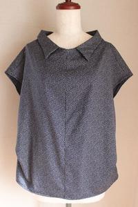 Mパターン B1705「スタンドオフカラーシャツ」 - 日々是お針子
