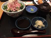 デカ盛りねぎトロ丼と盛岡冷麺 - 麹町行政法務事務所