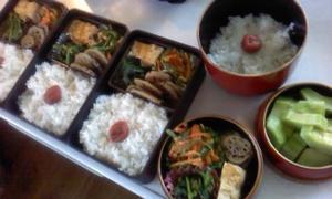 今日のお弁当 -