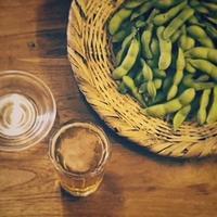 飲み屋の厚口グラスと酒受け皿 - 雑貨店PiPPi