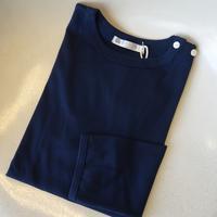 Re m ade in tokyo japan ギザコットン天竺ボタンバスクシャツ ネイビー - 下町の洋服店 krunchの日記