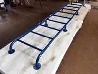 雲梯をご購入される際にご一読ください♪ - スチール空間設計/鉄のクリエーターをめざせ!       螺旋階段・鉄骨階段・ロフト用ハシゴ