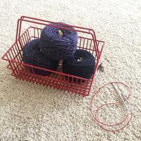 Knitting - 烏帽子への風