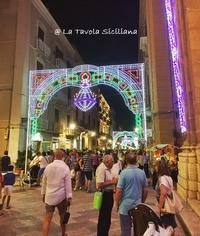 8月7日は聖アルベルトでトラーパニは祝日です。 - La Tavola Siciliana  ~美味しい&幸せなシチリアの食卓~