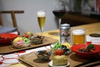安肉のステーキとひじき煮2種! - ワタシの呑日記