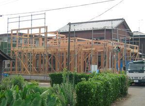HOUSE-KMIは建方・上棟しました! - 島田博一建築設計室のWEEKLY  PHOTO / 栃木県 建築設計事務所