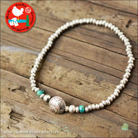 Sunku 39 [サンク] STAR CONCHA BEADS BRACELET /スターコンチョビーズブレスレッド [SK-208] MEN'S/LADY'S - refalt   ...   kamp temps