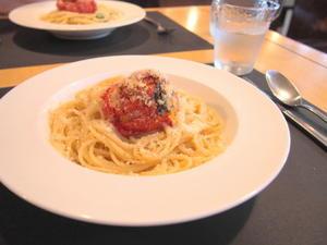 焼きトマトのパスタランチ:リストランテ ボーノ(青森市) - 津軽ジェンヌのcafe日記