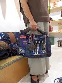 マチ付きの手提げバッグ - 古布工房 小手毬