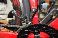 風路駆ション297  楕円ギアはフロントディレイラーハンガーに気を遣う。。  ロードバイクPROKU -   ロードバイクPROKU