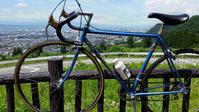 自転車で蔵王に - 瀬島匠 アトリエクラージュ