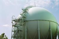 北ガスのタンクと公開講座の準備 - 照片画廊