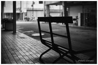 背板のないベンチ - BobのCamera