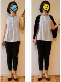 オフィス着 : ユニクロ990円パンツ 黒 - Mirror Mirror...
