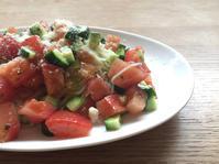 バジルサラダ素麺 - 犬服屋 grande roue