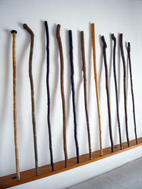 わたしの「手づくり杖」が前衛芝居「龍の巫女」に使われる - ちょい古道具ライフ
