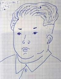 台風&満月 - たなかきょおこ-旅する絵描きの絵日記/Kyoko Tanaka Illustrated Diary