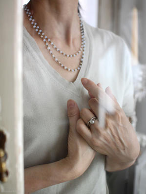 """優しい色に包まれて… - Salon de Bijoux """"ルドゥテ""""のアトリエ"""
