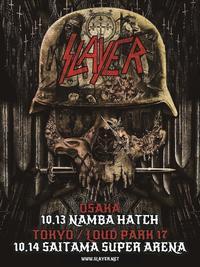Slayerの大阪での単独公演も決定 - 帰ってきた、モンクアル?