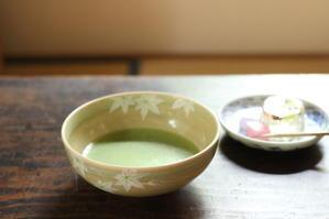 昭和初期の器と京菓子でお抹茶時間♪ - キラキラのある日々