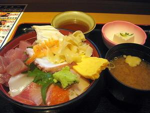神戸・元町「えびす大黒」の海鮮丼 -