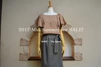 """2017 Mid Summer for Sale !...8/12sat"" - SHOP ◆ The Spiralという館~カフェとインポート雑貨のある次世代型セレクトショップ~"
