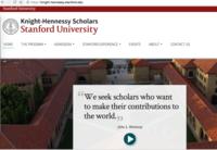 奨学金情報: Stanford大学Knight-Hennessy Scholars - Life@イデアス(アジア経済研究所 開発スクール 27期生ブログ)