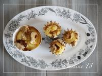 レモンクリームとマシュマロのマフィン - cuisine18 晴れのち晴れ