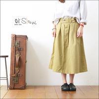orslow [オアスロウ] GURKHA SKIRT ORIGINAL CHINO /グルカスカート [00-4026-40] LADY'S - refalt   ...   kamp temps