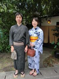 素敵です、渋い浴衣で、嵐山。 - 京都嵐山 着物レンタル&着付け「遊月」
