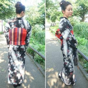 私の帯を締めた娘の姿 - ラングスジャパン小林美紀ブログ