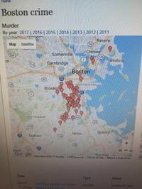 ボストンの治安 - ハーバードで奮闘中、日本人救急医ブログ
