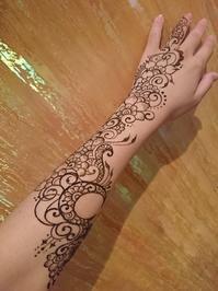 腕に月と花を - CHIEKO ART WORKS ~ Saraswati Planet ~