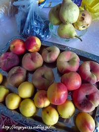 村での楽しみ 果物大人買い - 丁寧な生活をゆっくりと2